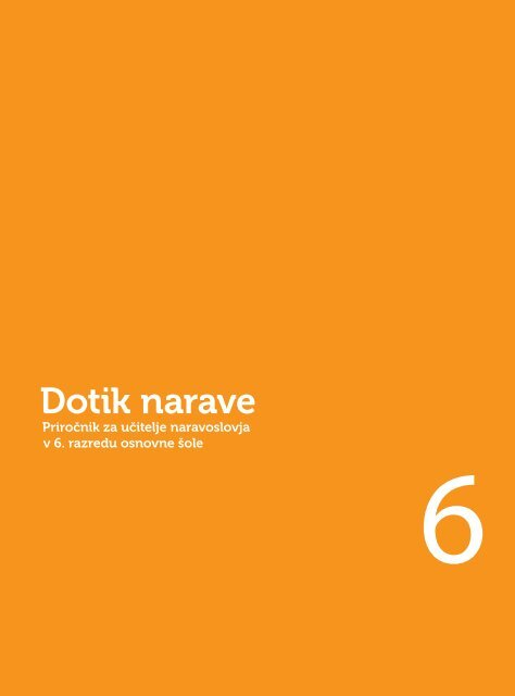 Dotik narave 6 - priročnik za učitelja - 1. poglavje (2,4 MB)