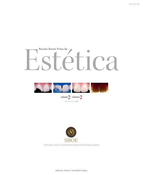 Revista Dental Press de Estética V olume 2 - Número 2 - Abril / Maio ...