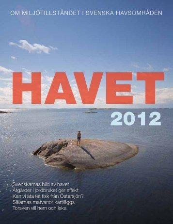 Havet 2012 - Havsmiljöinstitutet