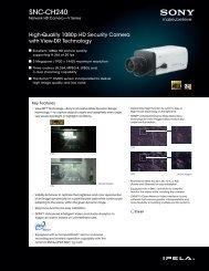 SNC-CH240 - Sony