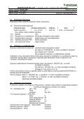 BEZPEČNOSTNÍ LIST /v souladu s příl. II nařízení ES 1907 ... - Novato - Page 4