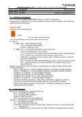 BEZPEČNOSTNÍ LIST /v souladu s příl. II nařízení ES 1907 ... - Novato - Page 5
