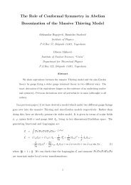 The Role of Conformal Symmetry in Abelian Bosonization of the ...