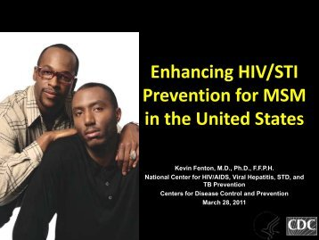 Enhancing HIV/STI Prevention for MSM in the United States