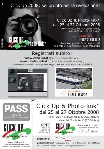 Click Up & Photo-link* - Condor Foto