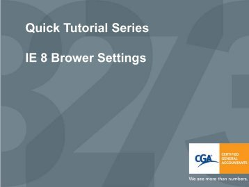 Download the PDF version of the Quick Tutorial