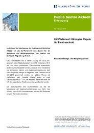 Strengere Regeln für Elektroschrott Public Sector Aktuell Entsorgung