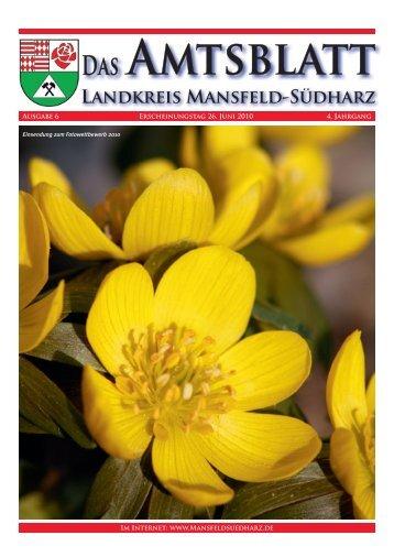 D - Landkreis Mansfeld-Südharz