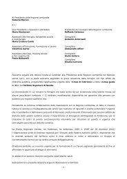 Al Presidente della Regione Lombardia Roberto Maroni pc - ANGSA ...