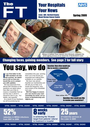 Issue 1 - East and North Herts NHS Trust