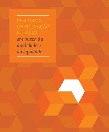 PERCURSOS DA EDUCAÇãO INTEGRAL