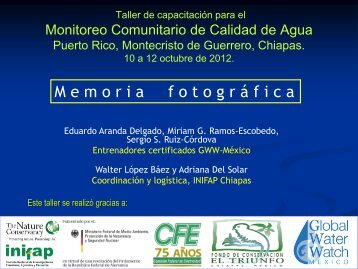 participantes - Global Water Watch