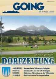 (3,62 MB) - .PDF - Going am wilden Kaiser - Land Tirol