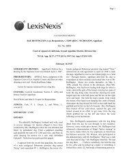 6 of 100 DOCUMENTS RAE BUFFINGTON et al., Respondents, v ...