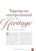Tapping our Entrepreneurial Heritage by Ian Hunter and Marie Wilson - Page 2