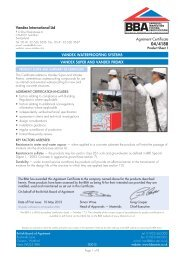 Vandex Super BBA - Safeguard Europe Ltd.