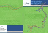 La convention collective - FO EFS