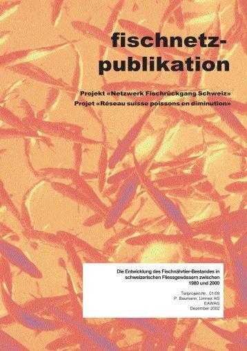 Die Entwicklung des Fischnährtier-Bestandes in ... - Fischnetz