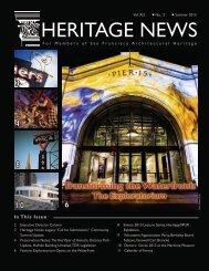 Heritage News - San Francisco Architectural Heritage