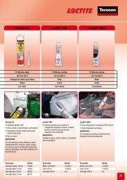 31 Terostat 33 Loctite® 595 Loctite® 5940 - Henkel