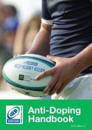 IRB Anti-Doping Handbook (2012) - SuperSport