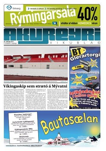 4. tölublað, 2. árgangur – 26. janúar 2012 - Akureyri Vikublað