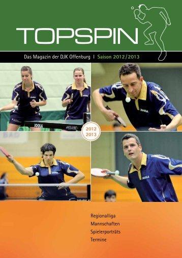 Das Magazin der DJK Offenburg I Saison 2012 / 2013