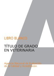 Libro Blanco Veterinaria 1.qxd - Universidad Pontificia Comillas