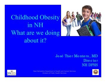 Childhood Obesity in NH What are we doing about it? - The Hood ...