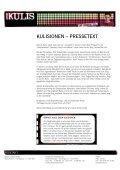 PRESSEMAPPE Gernot Kulis pdf, 943.8 KB ... - HOANZL Agentur - Seite 2