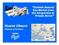 Natural Gas Market Seminars - PETFORM