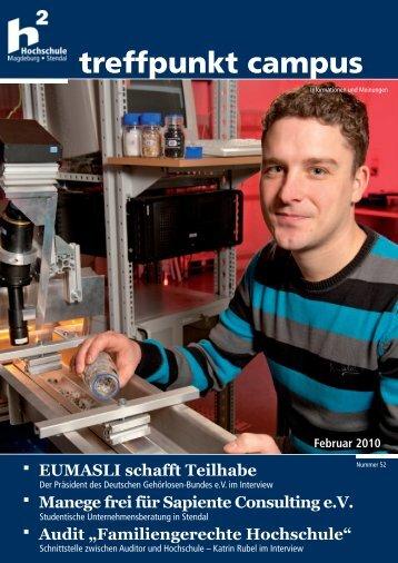 treffpunkt campus - Hochschule Magdeburg-Stendal