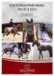 katalog til print hold 4 Vilh 2011 - Dansk Varmblod