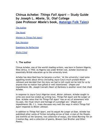 The Joy Luck Club Amy Tan Things Fall Apart Chinua Achebe A Chinua Achebe Things  Fall