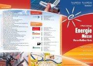 Energie Messe Werra-Meißner-Kreis E-Werk Eschwege