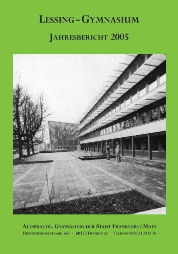 Vollständiger Jahresbericht 2005 im PDF-Format - Bund der Freunde