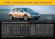 Auto Blitz – jaunais Opel dīleris piedāvā: Iegūsti vairāk kā sagaidi!