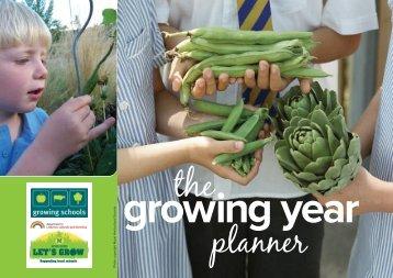 Growing Schools Year Planner