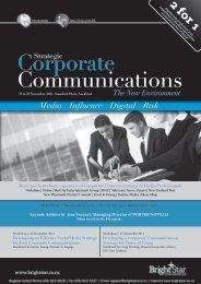 Corporate Communications - Bright*Star