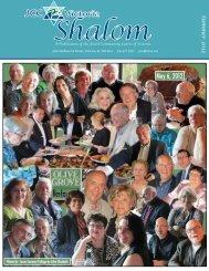 Shalom Newsletter - August 2012 - JCC Victoria