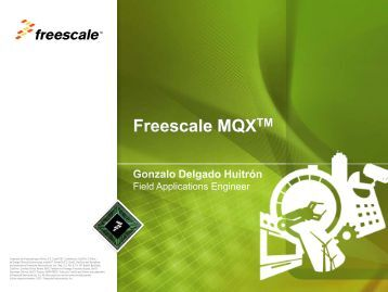 MQX Basics - Freescale