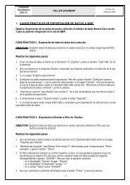 casos prácticos tratados en el taller - Gbif.es