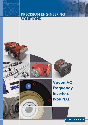 SOLUTIONS Vacon AC Frequency Inverters type NXL - Andantex UK