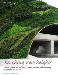 green walls - Flourish Garden Concepts Ltd