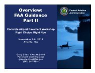 Overview: FAA Guidance Part II