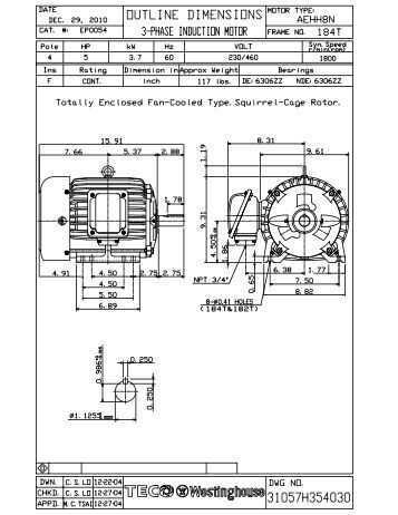cv7300 instruction manual teco westinghouse motor company