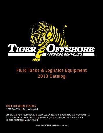 Fluid Tanks & Logistics Equipment 2013 Catalog - The Modern Group