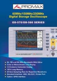 OD-570 / OD-580 - GELEC (HK)