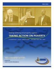 Taking Action on Poverty - Public Health Association of Nova Scotia