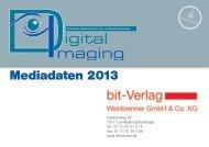 Mediadaten 2013 - BIT Fachzeitschrift für Dokumenten-Technologien